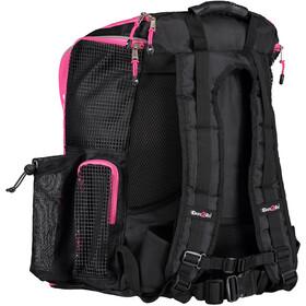 Dare2Tri Transition Rugzak 33L, black/pink